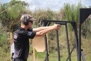 Lane shooting at IPSC US Nationals
