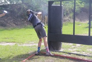 Lane at US IPSC Nationals
